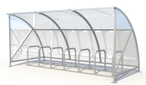 14 Bike Cycle Shelter Click here for details